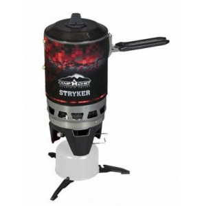 Camp Chef Mountain Series Stryker Isobutane Stove, Green/Black/Red