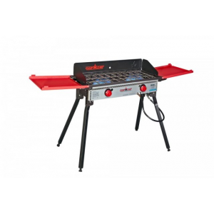Camp Chef Pro 60X - 2 Burner Stove, Black and Red