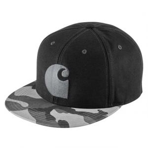 Carhartt Brooker Cap for Mens, Rugged Gray Camo, One Size Fits All