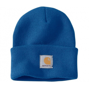 Carhartt Men's Acrylic Watch Hat, Cobalt Blue, One Size