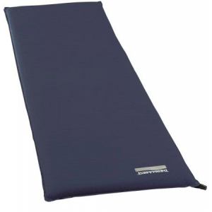 Demo,Thermarest BaseCamp Sleeping Pad, Blue Night, Large