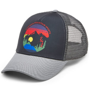 EMS Men's Heritage Trucker Hat - Black