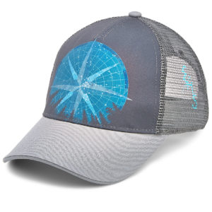 EMS Men's North Star Trucker Hat - Black