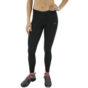 Adidas Women's Response Long Running Tights - Black