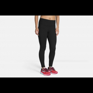Brooks Greenlight Women's Running Tight, Black, Large