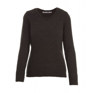 Demo,Woolrich Women's Maple Way Crew Sweater, Charcoal Heather, M