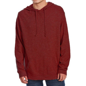 G.h. Bass & Co. Men's Hooded Long-Sleeve Sweater - Red