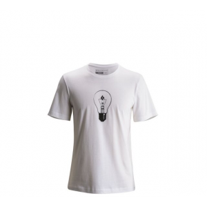 Black Diamond BD Idea Short Sleeve Logo Tee Shirt - Mens, White, Small