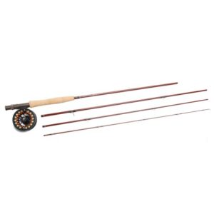 Ampere Fly Rod and Reel Outfit with Tube - 4-Piece